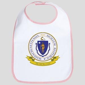 Massachusetts Seal Bib