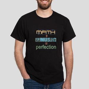 math and music Dark T-Shirt