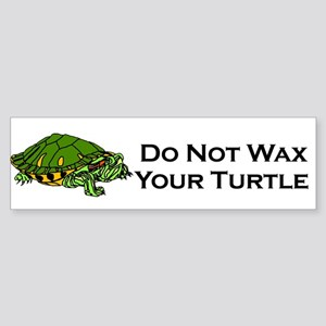 Do Not Turtle Bumper Sticker