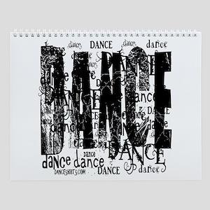 Funky Dance by DanceShirts.com Wall Calendar