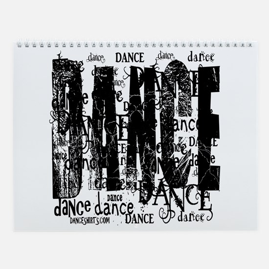 Funky Dance by DanceShirts.com Wall Calendar