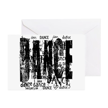 Funky Dance by DanceShirts.com Greeting Cards (Pk