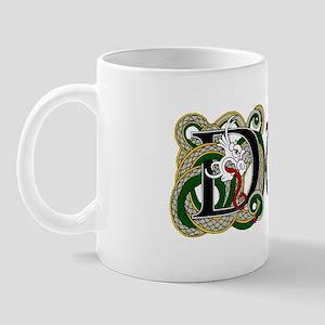 Dunn Celtic Dragon Mug