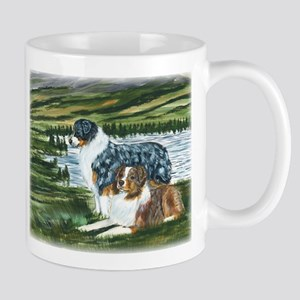Austrailian Shepherd Blue and Mug