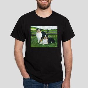 Austrailian Shepherd Tri Dark T-Shirt
