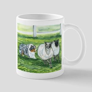 Austrialian Blue Merle Herdin Mug