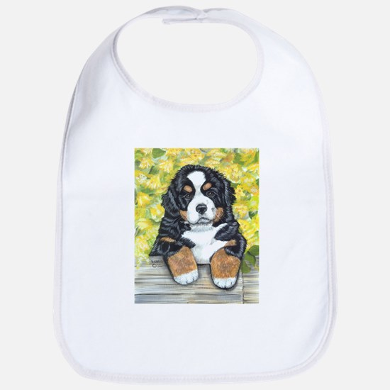 Bernese Mountain Dog Fence Pu Bib