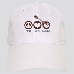 Peace Love Mandolin Cap
