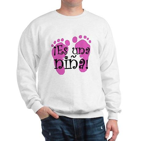 Es una niña! Sweatshirt