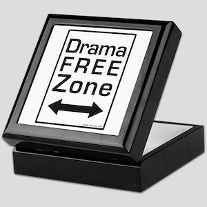 Drama Free Zone Keepsake Box