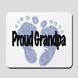 Proud Grandpa (Boy) Mousepad