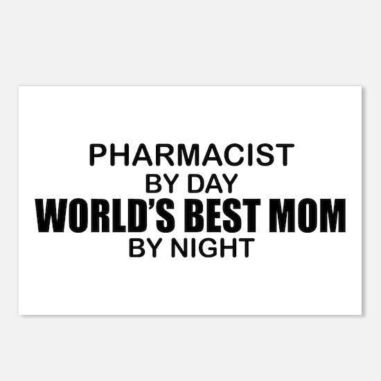World's Best Mom - PHARMACIST Postcards (Package o