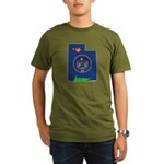 ILY Utah Organic Men's T-Shirt (dark)
