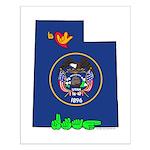 ILY Utah Small Poster