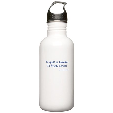 To Quilt is Human Stainless Water Bottle 1.0L