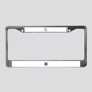 Life is great. Mixed Martial A License Plate Frame