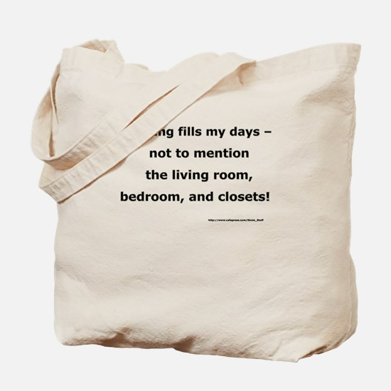 Sewing Fills My Days Tote Bag