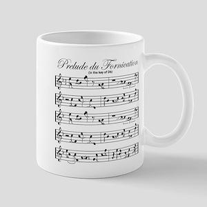 Prelude Du Fornication Mug