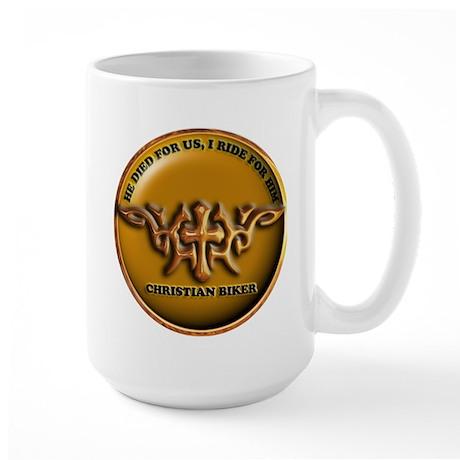 CB11 RIDE 4 HIM Large Mug