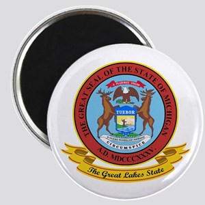 Michigan Seal Magnet