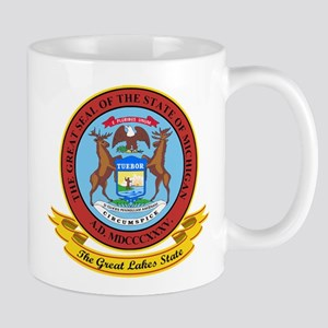 Michigan Seal Mug