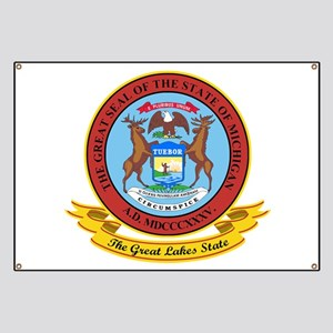 Michigan Seal Banner