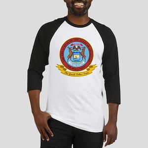 Michigan Seal Baseball Jersey