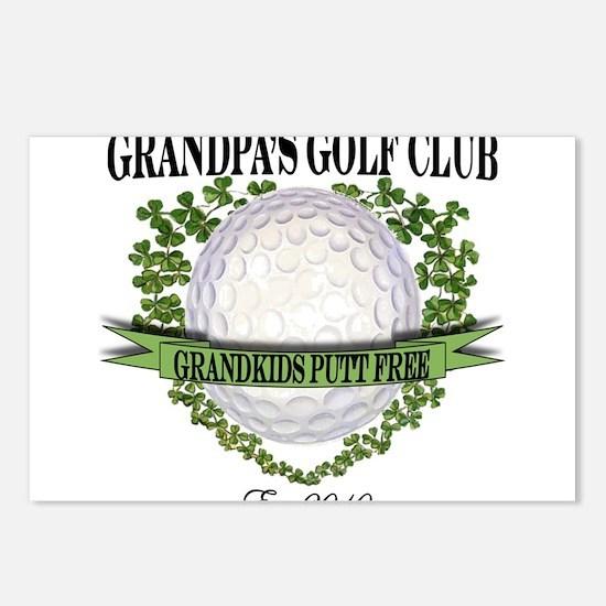 Grandpa's Golf Club 2010 Postcards (Package of 8)