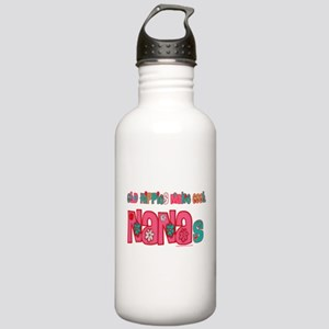 Old Hippie Nana Stainless Water Bottle 1.0L