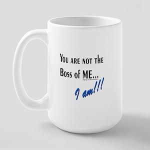 Boss of Me Large Mug
