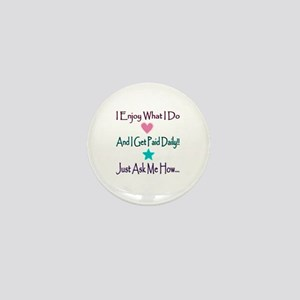 Daily Pay Lines Mini Button (10 pack)