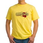 Rampage MMA Yellow T-Shirt