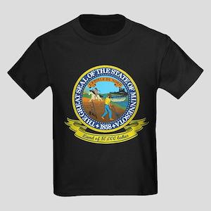 Minnesota Seal Kids Dark T-Shirt