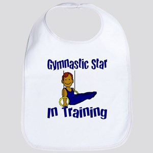Gymnastic Star in Training Jacob Bib