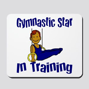 Gymnastic Star in Training Jacob Mousepad