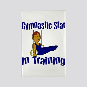 Gymnastic Star in Training Jacob Rectangle Magnet