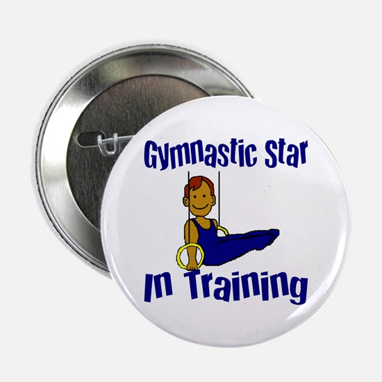 Gymnastic Star in Training Jacob Button