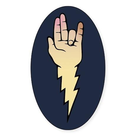 Shocker Emblem Sticker (Oval)