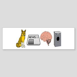 FOX NEWS Sticker (Bumper)