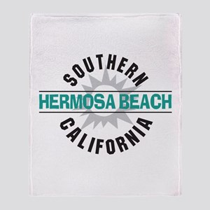 Hermosa Beach California Throw Blanket