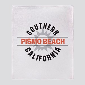 Pismo Beach California Throw Blanket