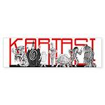 KARTASI COSTUMES Bumper Sticker
