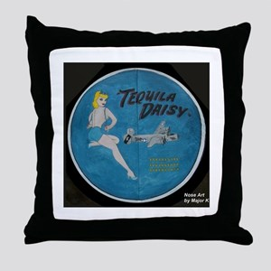 Tequila Daisy Throw Pillow