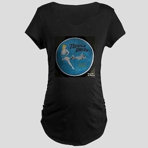 Tequila Daisy Maternity Dark T-Shirt