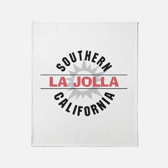 La Jolla Califronia Throw Blanket