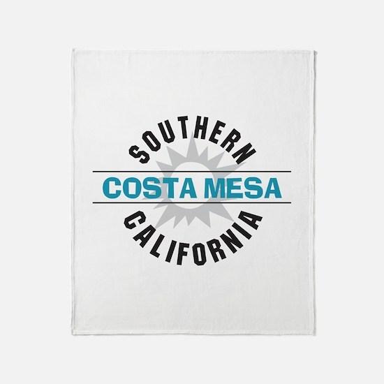 Costa Mesa California Throw Blanket