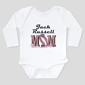 Jack Russell MOM Long Sleeve Infant Bodysuit