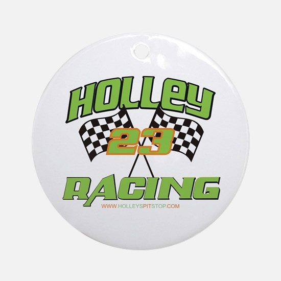 Holley Racing Ornament (Round)