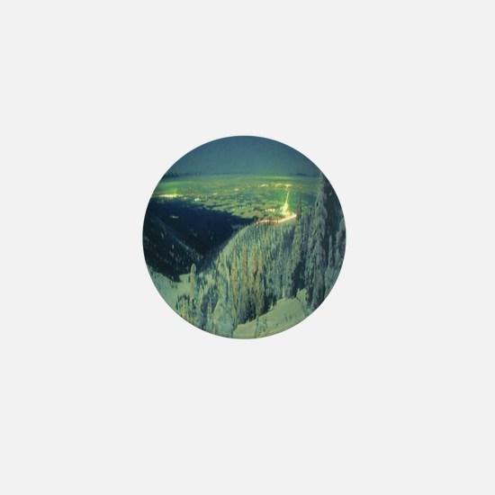 Big Mountain Night Mini Button