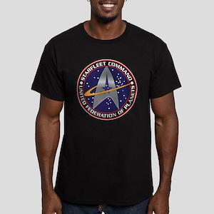 STARFLEET COMMAND Men's Fitted T-Shirt (dark)